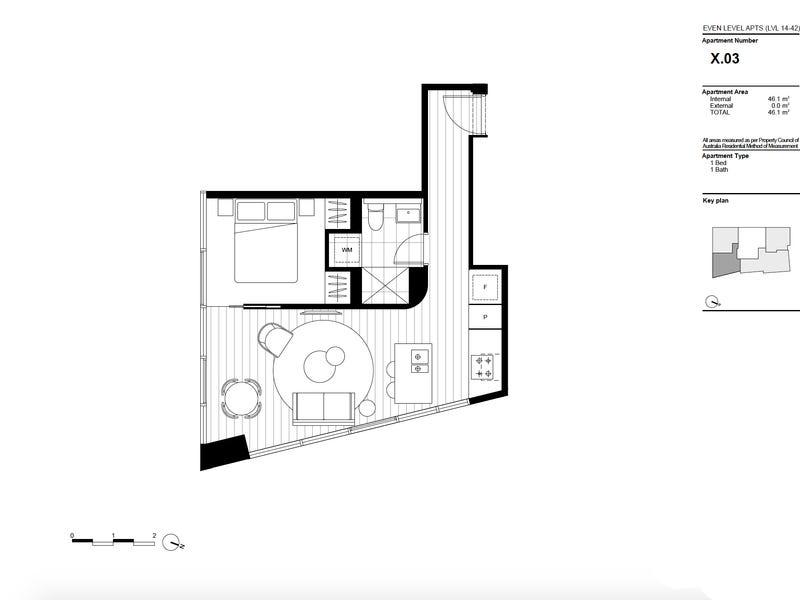 1403/141 La Trobe Street, Melbourne, Vic 3000 - floorplan