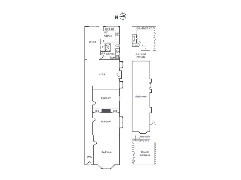 36 Denmark Street, Kew, Vic 3101 - floorplan