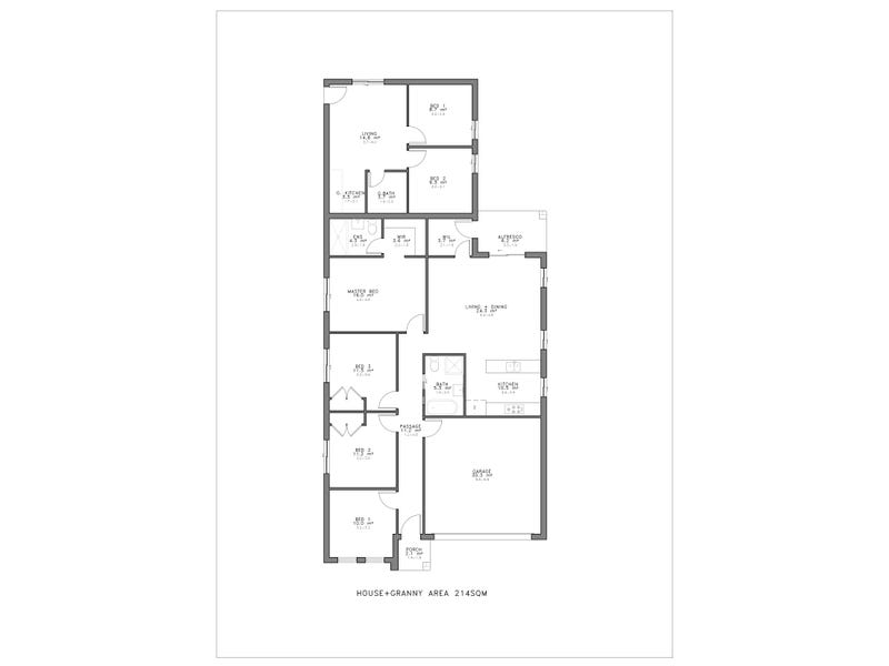 Gregory Hills, address available on request - floorplan