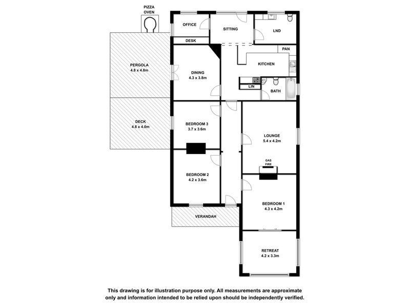 24 Victoria Terrace, Mount Gambier, SA 5290 - floorplan