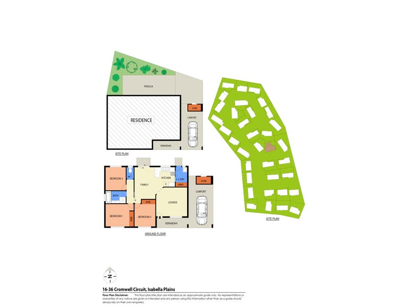 16/36 Cromwell Circuit, Isabella Plains, ACT 2905 - floorplan