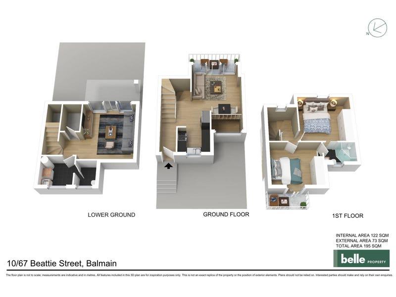 10/67 Beattie Street, Balmain, NSW 2041 - floorplan