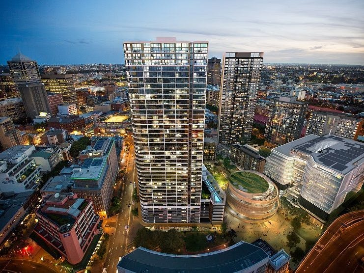 38M/NE3 Darling Square Harbour St Darling Harbour Street, Sydney, NSW 2000
