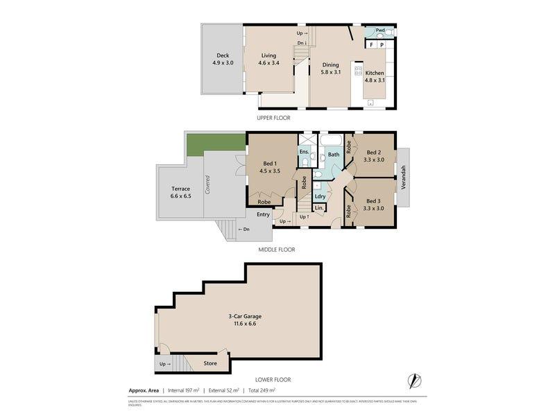 24 Blythe Street, Kelvin Grove, Qld 4059 - floorplan