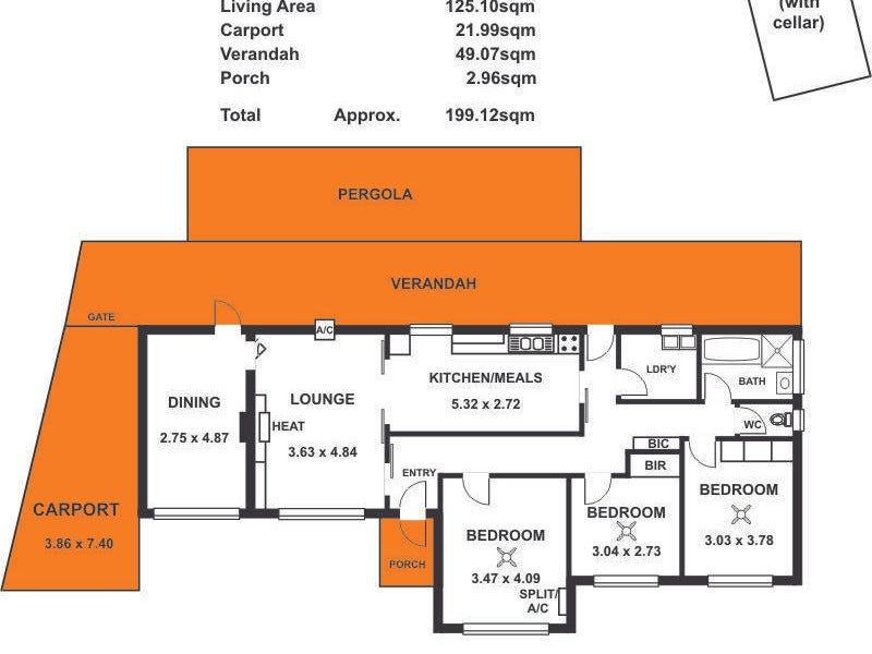 4 Dean Avenue, Kidman Park, SA 5025 - floorplan