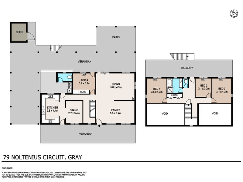 79 Noltenius Circuit, Gray, NT 0830 - floorplan