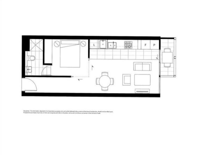 505/589 Elizabeth Street, Melbourne, Vic 3000 - floorplan