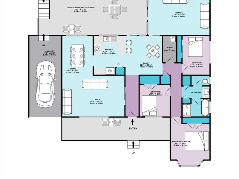 46 Russell Avenue, Faulconbridge, NSW 2776 - floorplan