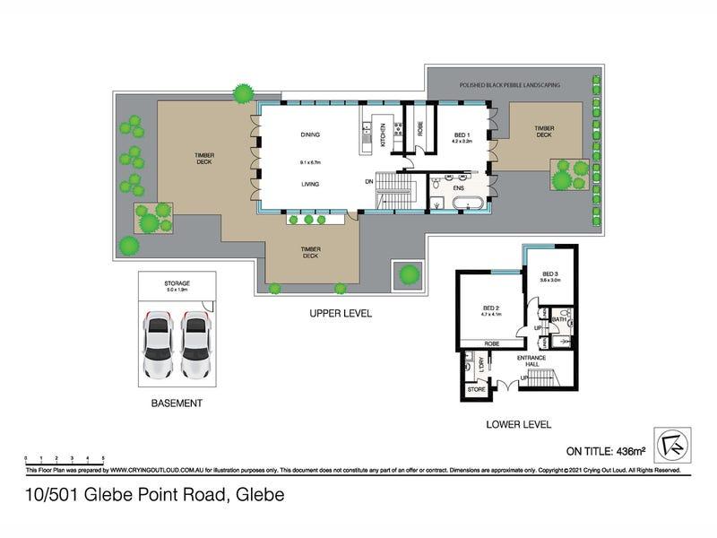 Penthouse No. 10/501 Glebe Point Road, Glebe, NSW 2037 - floorplan