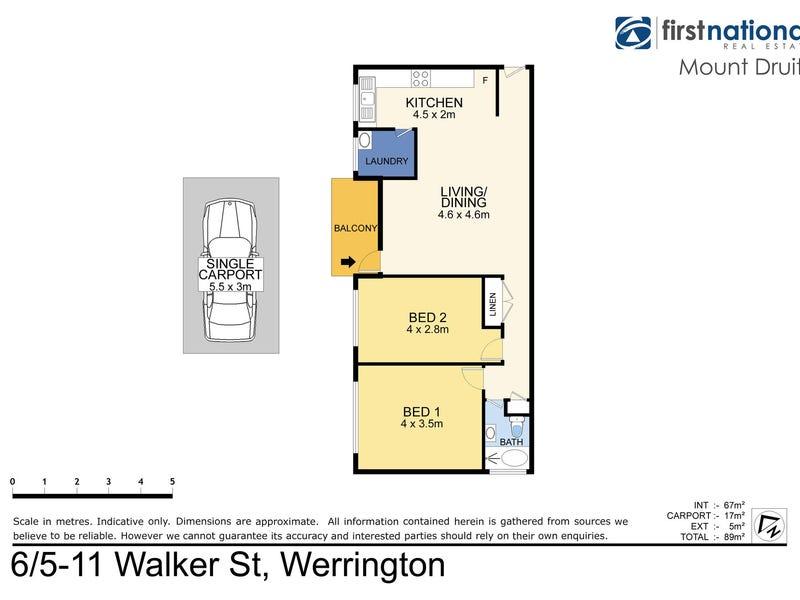 6/5-11 Walker St, Werrington, NSW 2747 - floorplan