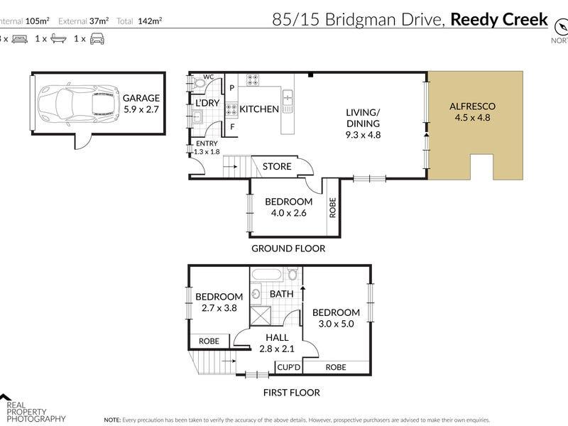 85/15 Bridgman Dr, Reedy Creek, Qld 4227 - floorplan