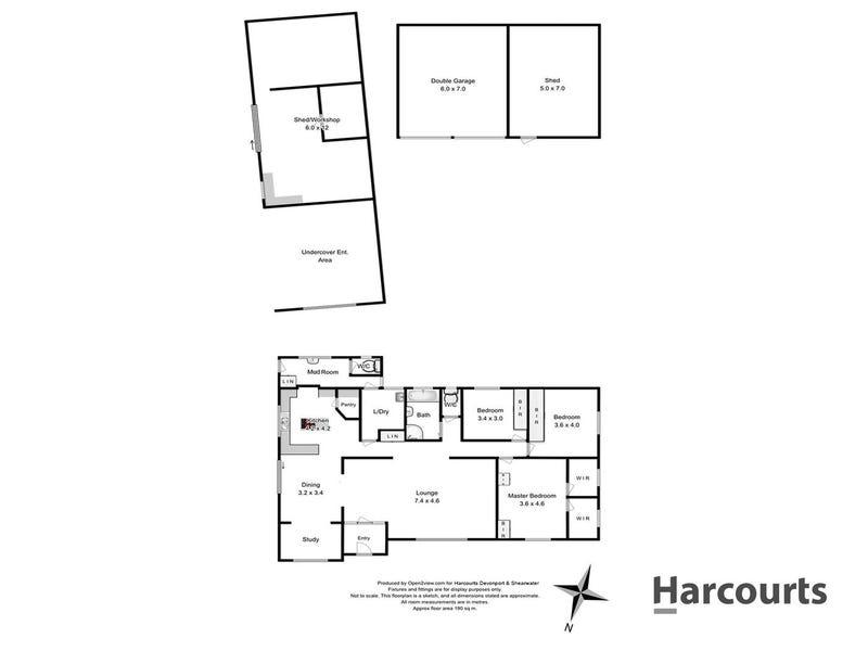 47 Morris Road, Melrose, Tas 7310 - floorplan