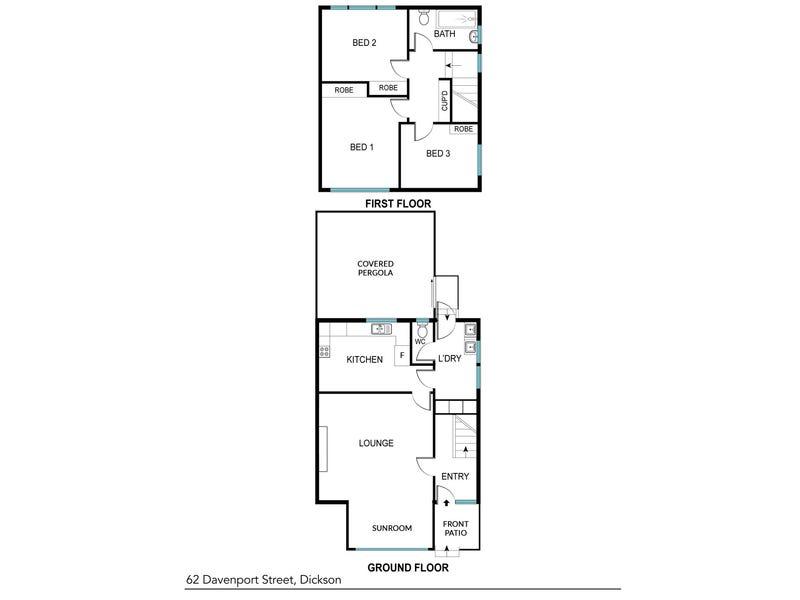62 Davenport Street, Dickson, ACT 2602 - floorplan