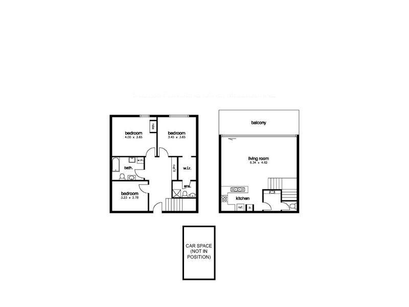 512/238 Flinders Lane, Melbourne, Vic 3000 - floorplan