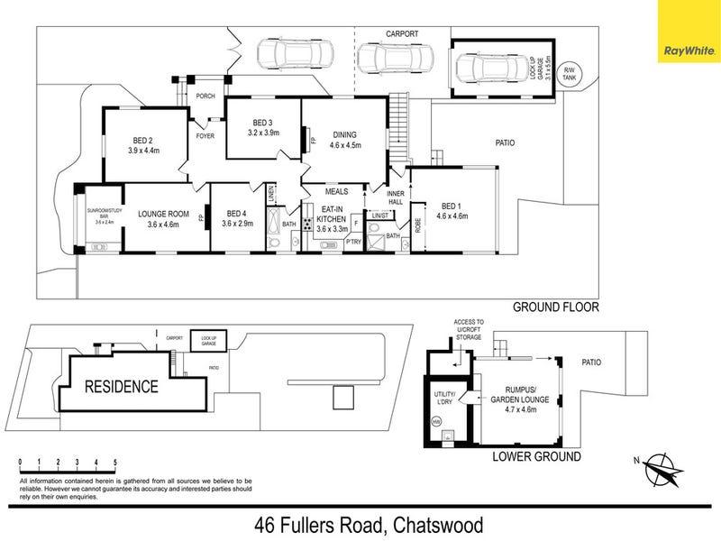 46 Fullers Road, Chatswood, NSW 2067 - floorplan