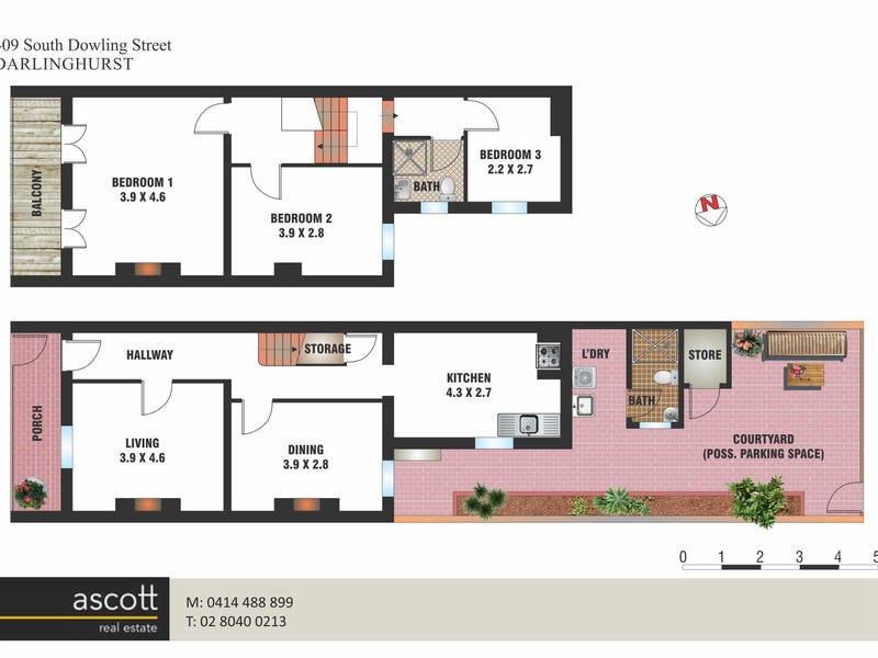409 South Dowling Street, Darlinghurst, NSW 2010 - floorplan