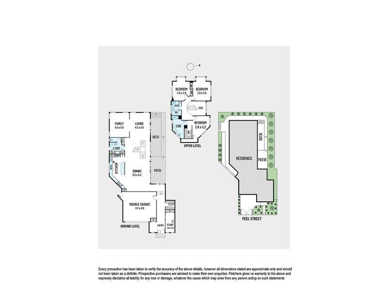 201 Peel Street, Kew, Vic 3101 - floorplan