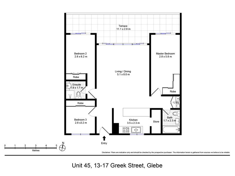 45/13-17 Greek St, Glebe, NSW 2037 - floorplan