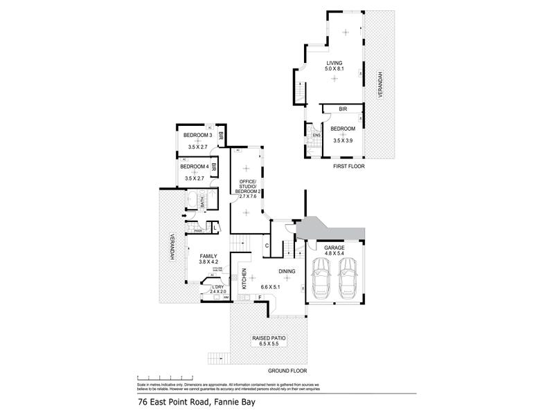 76 East Point Road, Fannie Bay, NT 0820 - floorplan