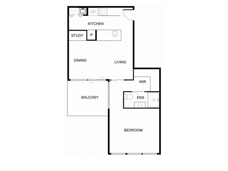 504/566 Cotter Road, Wright, ACT 2611 - floorplan
