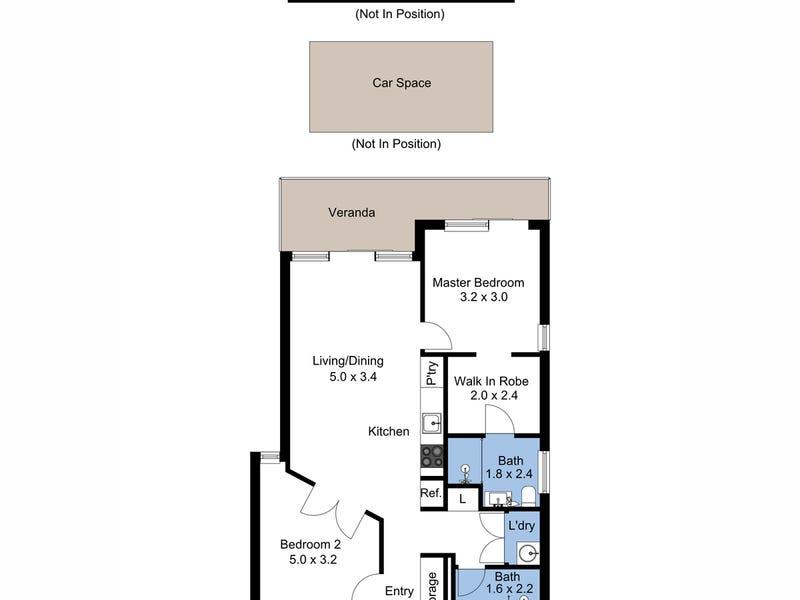 901/11 Charles Street, Wickham, NSW 2293 - floorplan