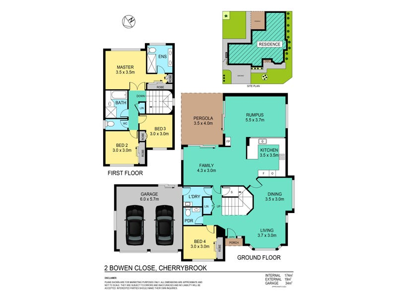 2 Bowen Close, Cherrybrook, NSW 2126 - floorplan