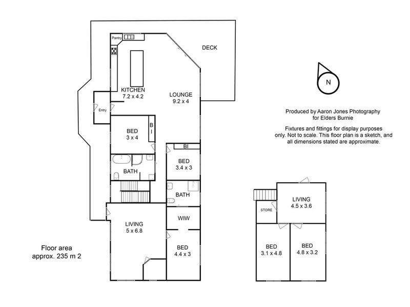 54 Tippetts Road, Mount Hicks, Tas 7325 - floorplan