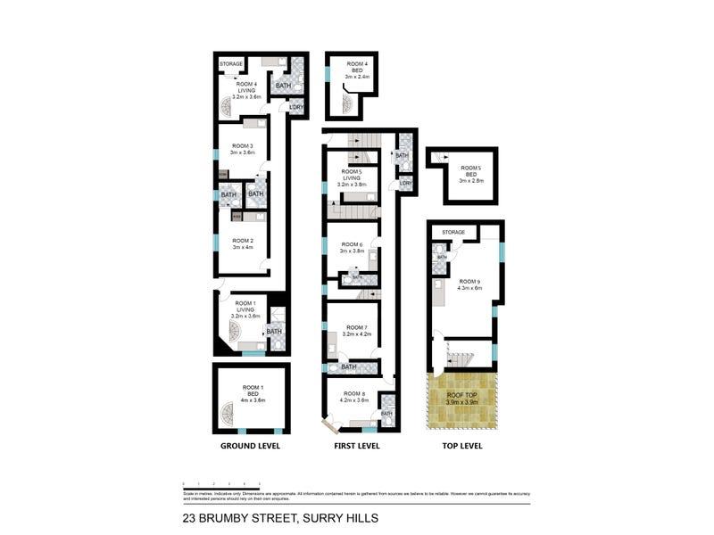 23 Brumby Street, Surry Hills, NSW 2010 - floorplan