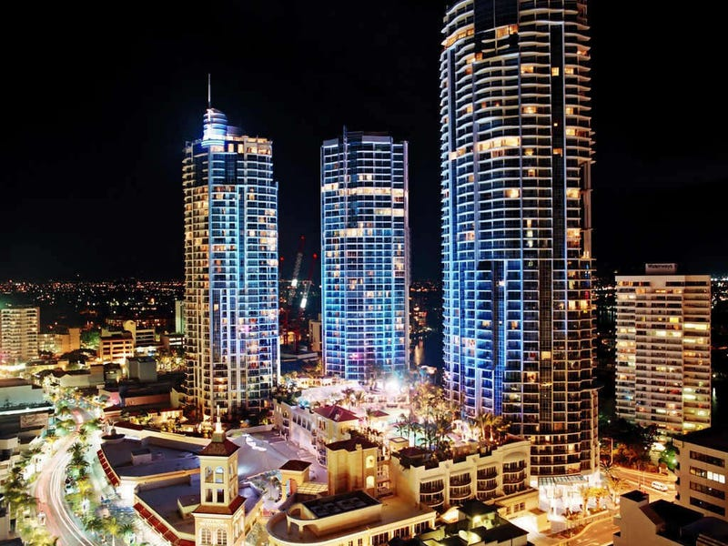 2124,  Mantra Towers Of Chevron 23 Ferny Avenue, Surfers Paradise, Qld 4217