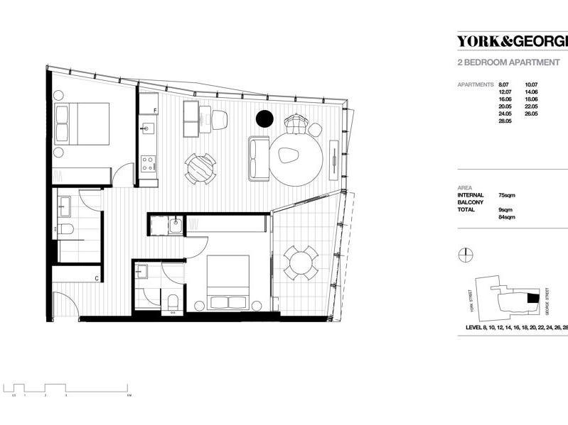 807/38 York Street, Sydney, NSW 2000 - floorplan