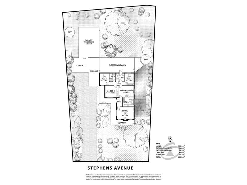 9 Stephens Avenue, Strathalbyn, SA 5255 - floorplan