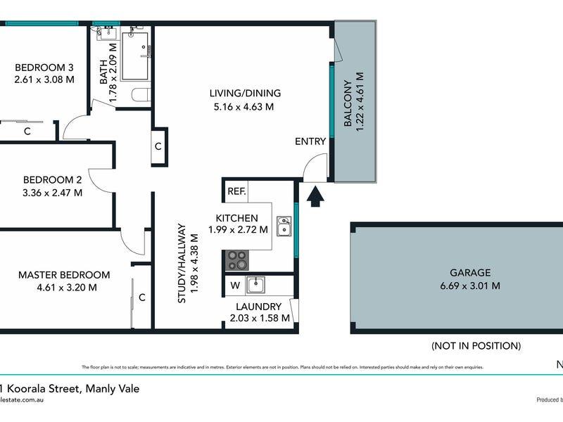 17/11 Koorala Street, Manly Vale, NSW 2093 - floorplan