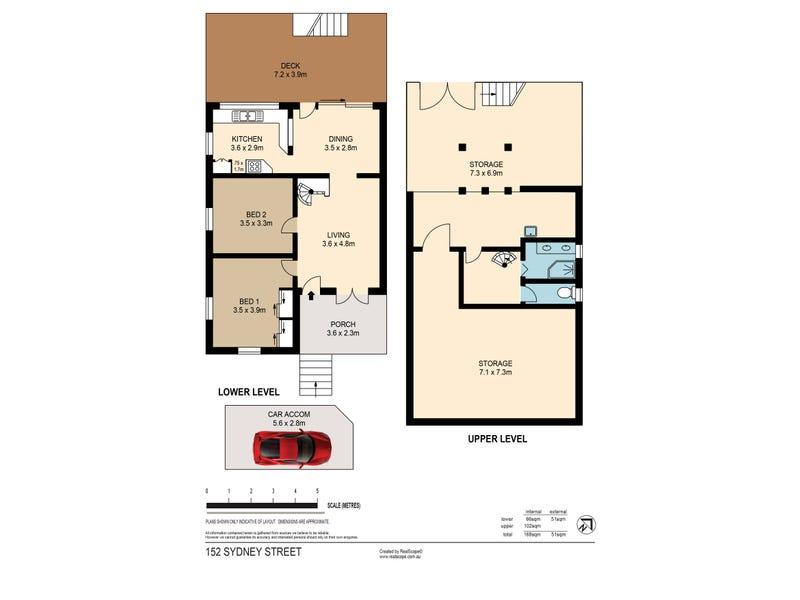152 Sydney Street, New Farm, Qld 4005 - floorplan