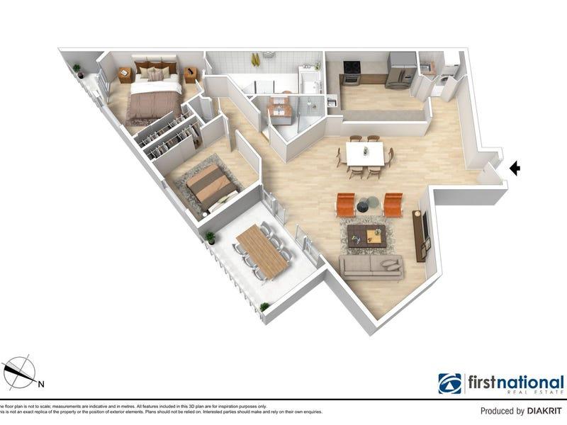 1806/2B Help Street, Chatswood, NSW 2067 - floorplan