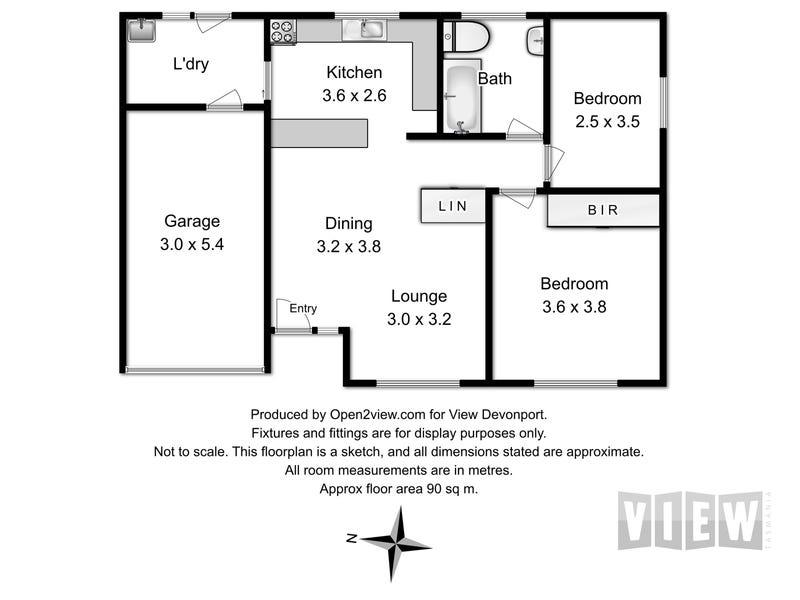 4/226-230 William Street, Devonport, Tas 7310 - floorplan