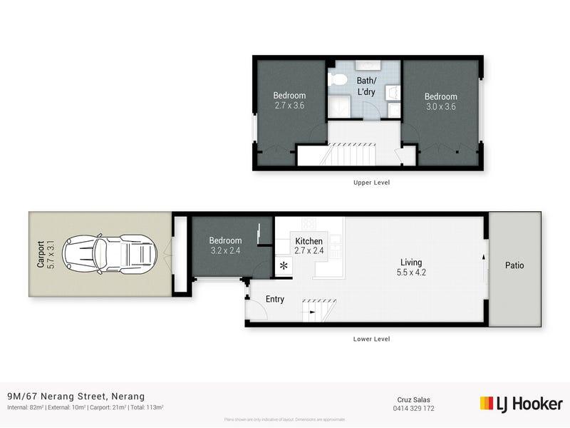 9/67 Nerang Street, Nerang, Qld 4211 - floorplan