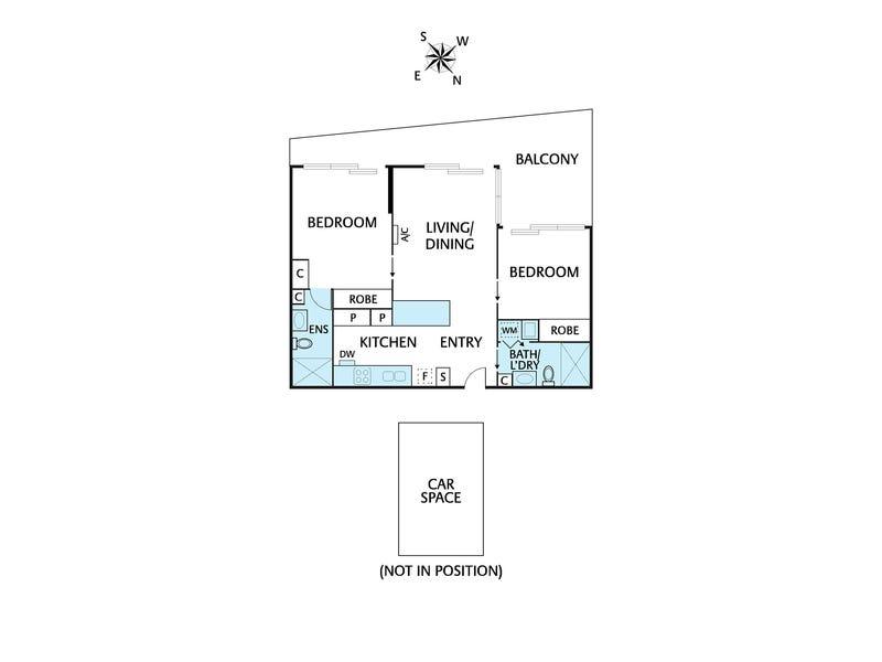 109/1 Westley Avenue, Ivanhoe, Vic 3079 - floorplan