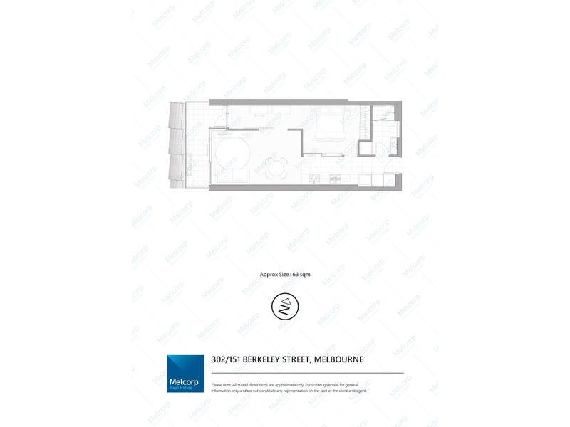 302/151 Berkeley Street, Melbourne, Vic 3000 - floorplan