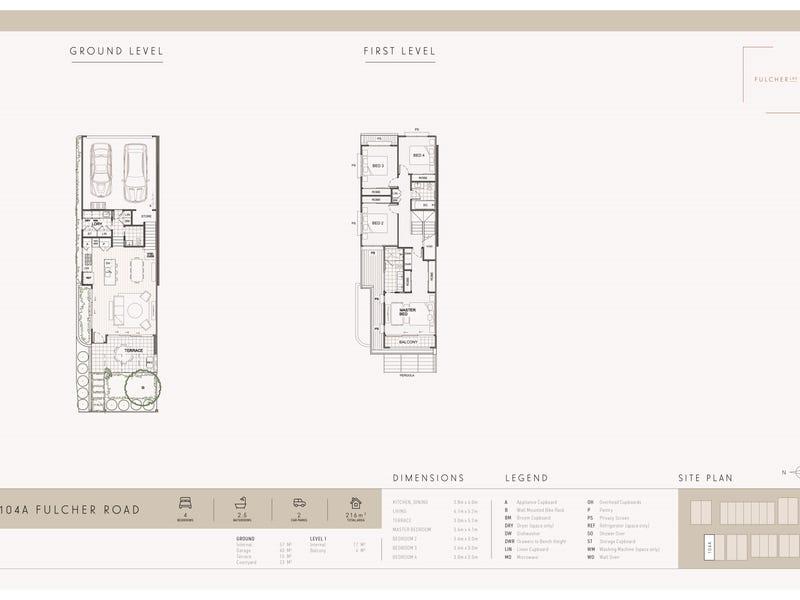 104A Fulcher Road, Red Hill, Qld 4059 - floorplan
