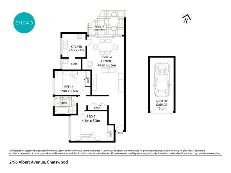 2/96 Albert Avenue, Chatswood, NSW 2067 - floorplan