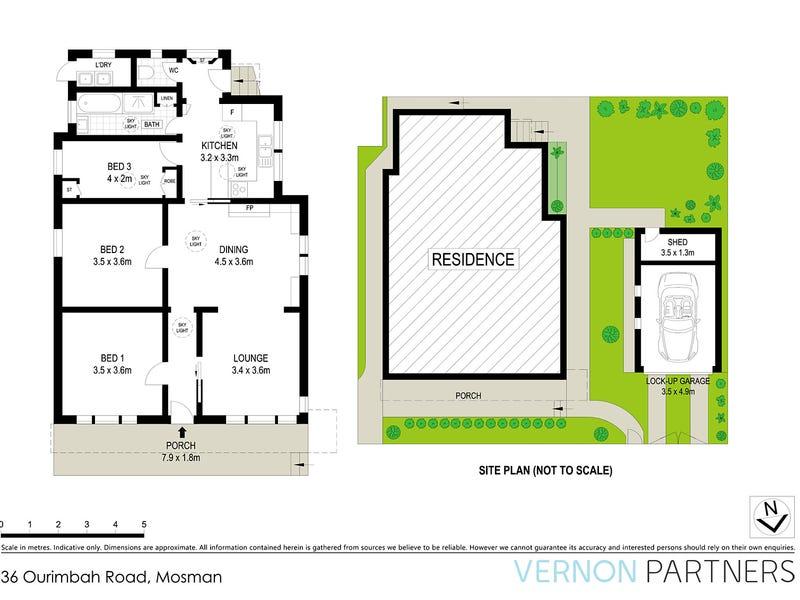 36 Ourimbah Road, Mosman, NSW 2088 - floorplan