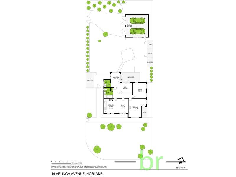 14 Arunga Avenue, Norlane, Vic 3214 - floorplan