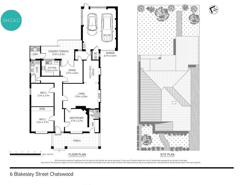 6 Blakesley Street, Chatswood, NSW 2067 - floorplan