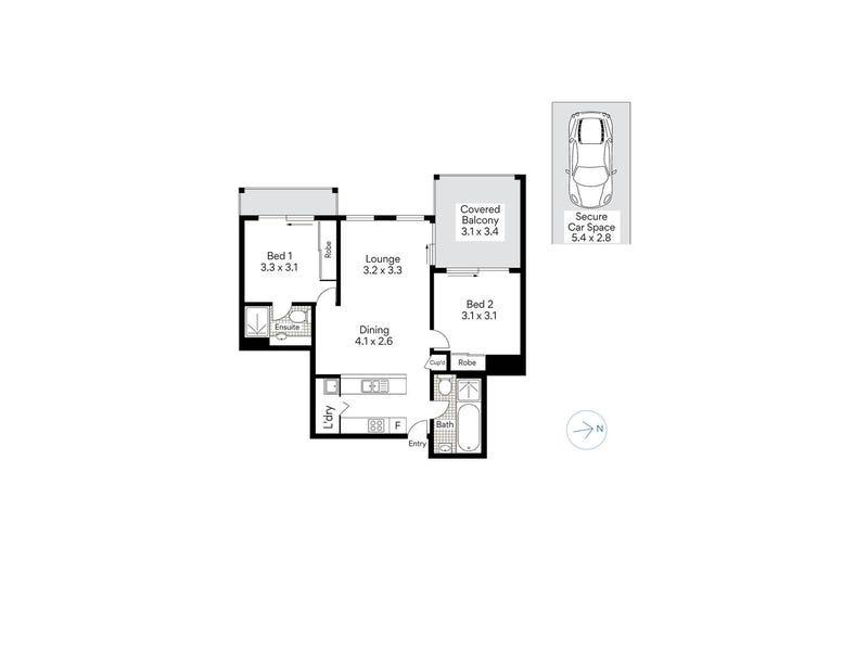 312/55 Harbour Street, Mosman, NSW 2088 - floorplan