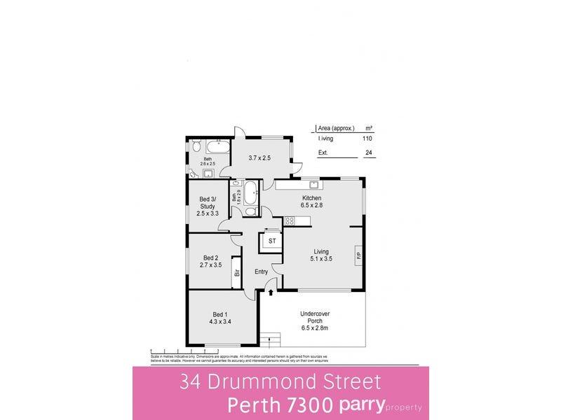 34 Drummond Street, Perth, Tas 7300 - floorplan