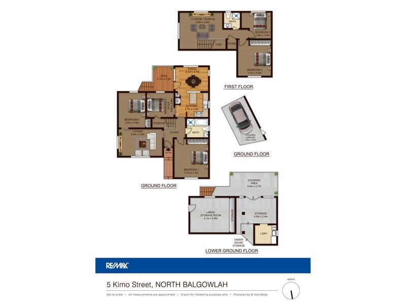 5 Kimo St, North Balgowlah, NSW 2093 - floorplan