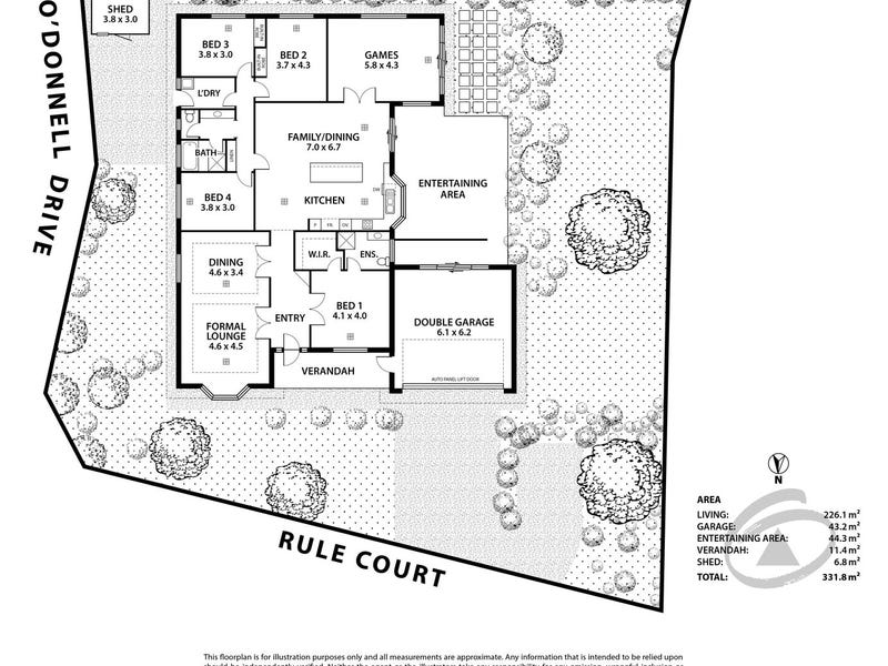 1 Rule Court, Littlehampton, SA 5250 - floorplan