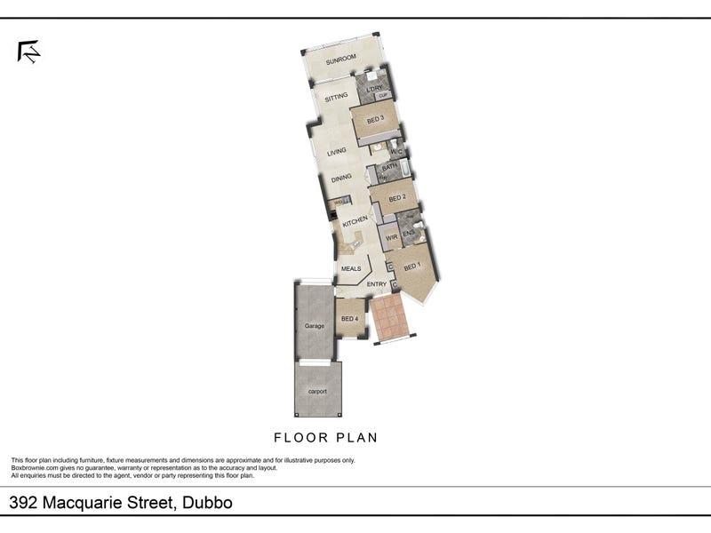 392 Macquarie Street, Dubbo, NSW 2830 - floorplan