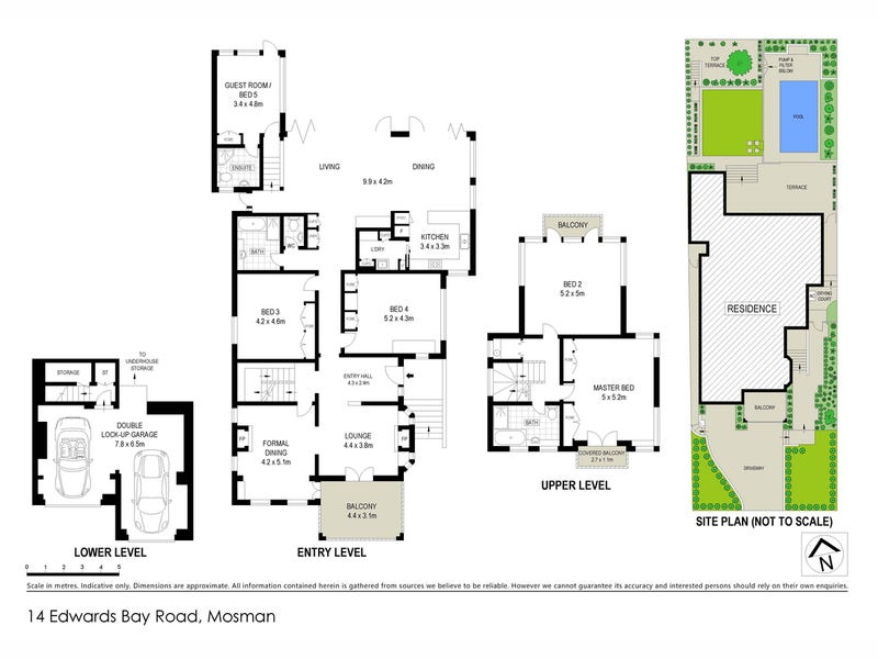 14 Edwards Bay Road, Mosman, NSW 2088 - floorplan