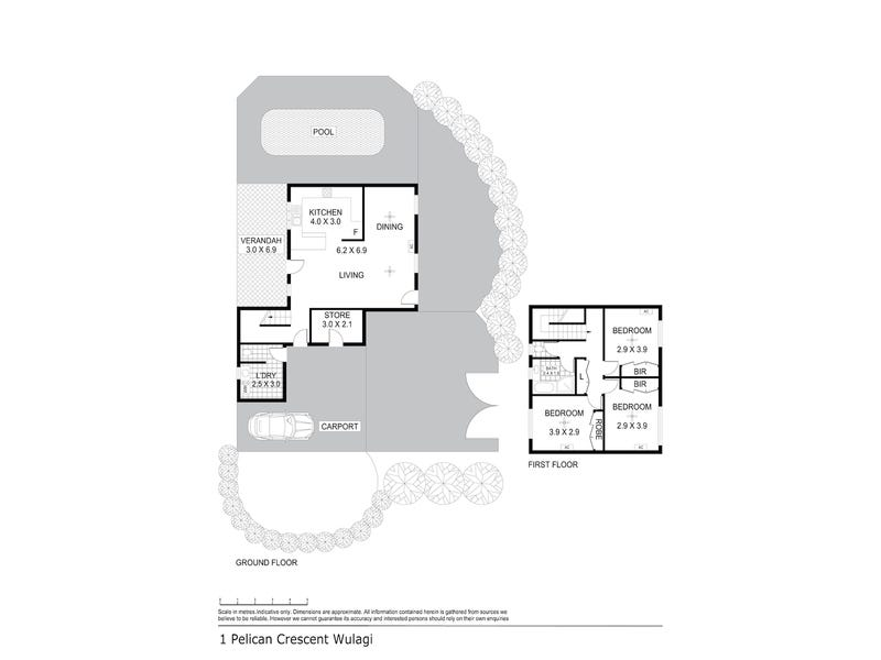 1 Pelican Crescent, Wulagi, NT 0812 - floorplan